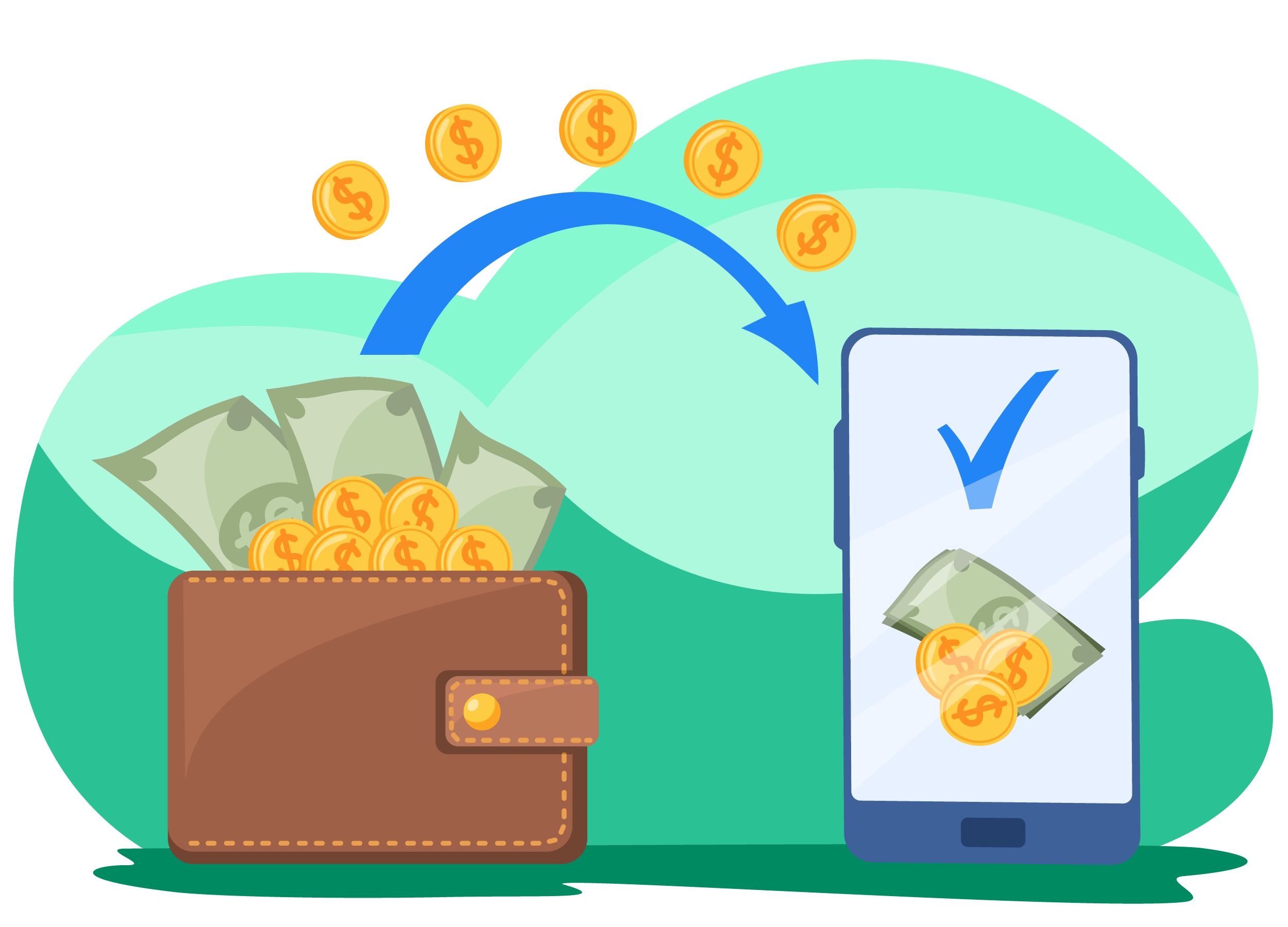 Earn commission on Cash-ins
